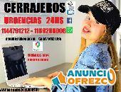 CERRAJERO 24HS A DOMICILIO 1